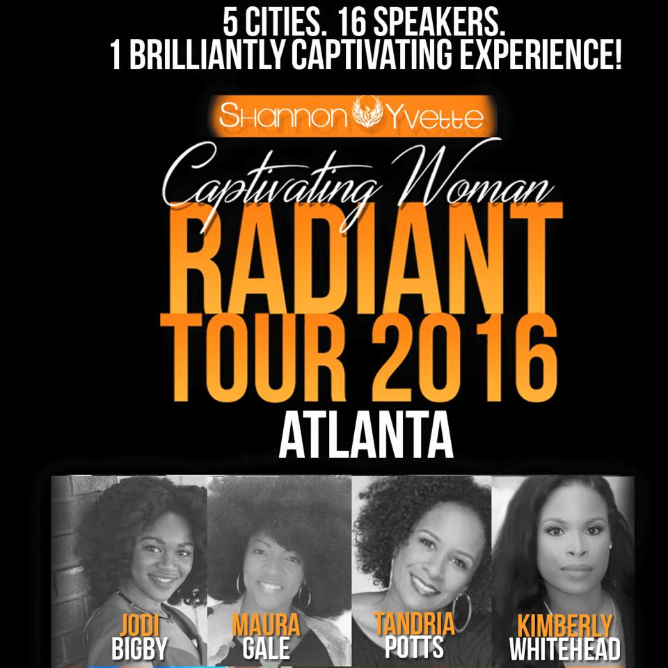 Maura Gale joins Captivating Women RADIANT Tour ATL!