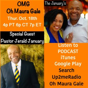 OMG! Oh Maura Gale Radio Show with Pastor J.