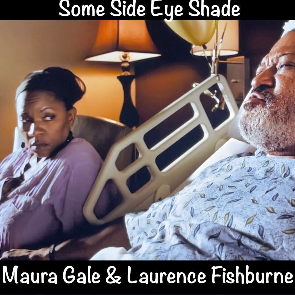 Maura Gale stars opposite of Laurence Fishburne